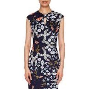 Ted Baker | Kairra Kyoto Gardens Bow Neck Dress 4